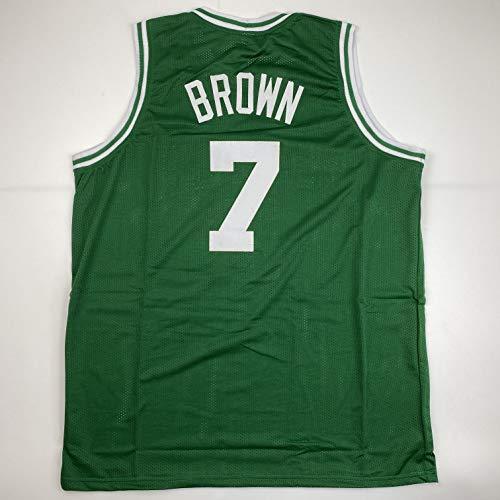 Unsigned Jaylen Brown Boston Green Custom Stitched Basketball Jersey Size Men's XL New No Brands/Logos