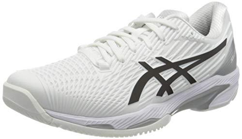 Asics Solution Speed FF 2, Tennis Shoe Hombre, White/Black, 44 EU