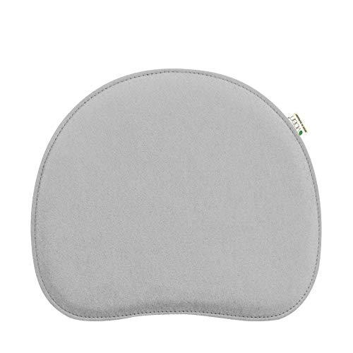 Metz Textil & Design Violan Sitzkissen für Panton Chair 40,5 x 34,5 cm - Silbergrau