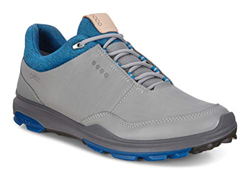 ECCO Herren Biom Hybrid 3 Golfschuhe, Grau (Gris/Azul 000), 45 EU