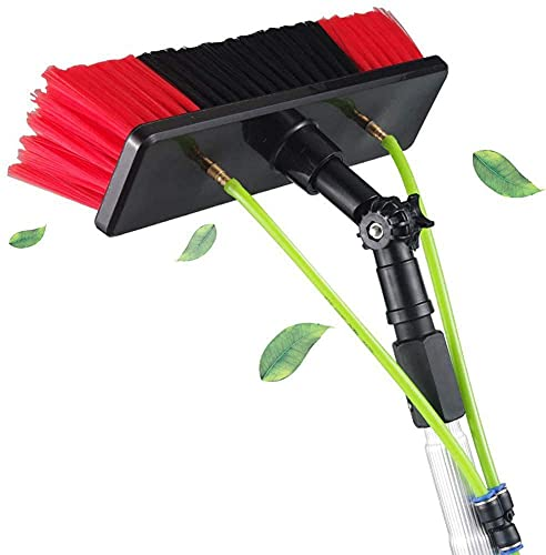 HAOJON Photovoltaic Panel Cleaning, Window Clean, 5-12m Water Fed Telescopic Brush, Extendable Cleaner Conservatory Roof Cleaning Tools / 12m/39.37ft
