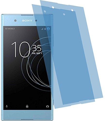 4ProTec I 2X Crystal Clear klar Schutzfolie für Sony Xperia XA1 Plus Bildschirmschutzfolie Displayschutzfolie Schutzhülle Bildschirmschutz Bildschirmfolie Folie