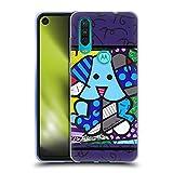 Head Case Designs sous Licence Officielle Britto Crabot Bleu Illustrations Abstractes 2 Coque en Gel...