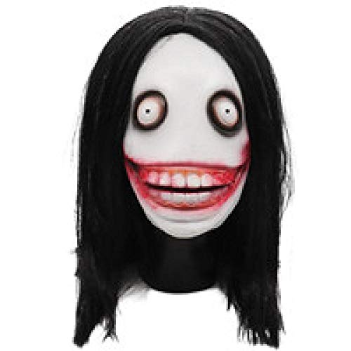 XWYWP Máscara de Halloween masacre Jigsaw Marionetas Máscaras de látex espeluznante máscara completa aterrador propp unisex fiesta cosplay suministros 2