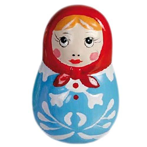 Russian Dolls Poupée Russe Bleu Figurine 6 cm