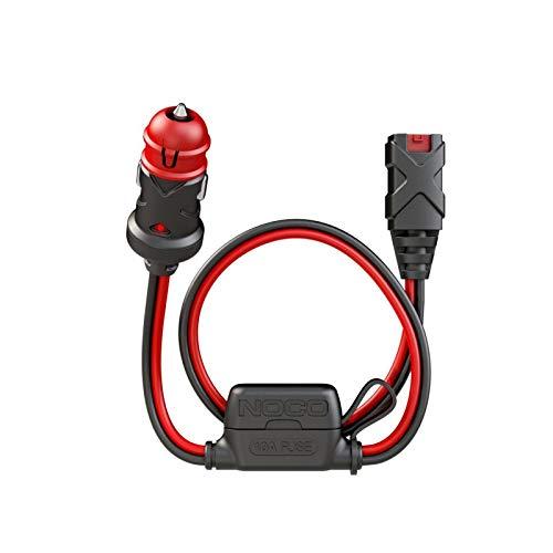30200001 - Cable Cargador de Batería X Conecte 12V Dual-Size Macho Bujía Toma de Mechero 60CM