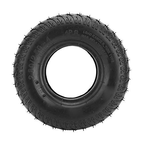 Neumáticos para sillas de ruedas eléctricas 2.80/2.50-4 Accesorio de reemplazo de llantas neumáticas para ruedas de scooter de movilidad