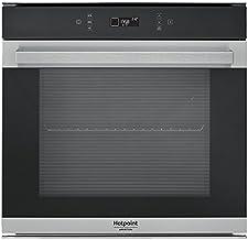 Hotpoint fi7871SH IX ha eléctrico 73L 3650W A + Negro, Plata Horno