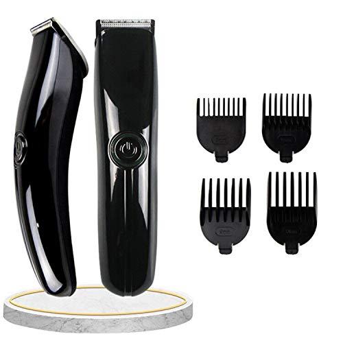 Haarschneidemaschine,Haarschneider,Haartrimmer Herren,USB-aufladung,professionelles elektrisches haarschnittwerkzeug mit 4 Führungskämmen,geeignet für alle familienmitglieder verwenden