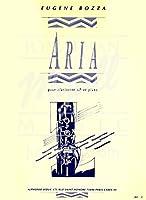 ボザ: アリア/ルデュック社/クラリネットとピアノ