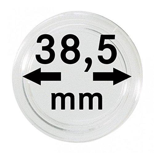 LINDNER Das Original Münzkapseln Innen-Ø 38,5 mm, 10er-Packung
