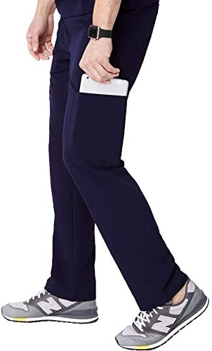 FIGS Medical Scrubs Men s Cairo Cargo Pants Navy Blue L product image
