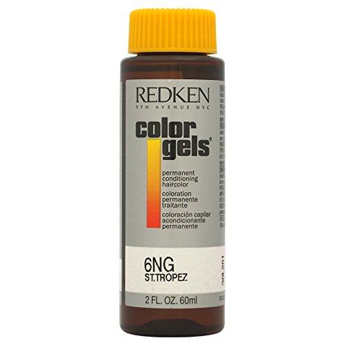 Redken Color Gels Coloration Soin Permanente 6NG ST Tropez