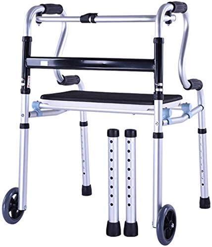 CHUNSHENN mart Choice Wheelchair Walker, Walke Disabled Folding