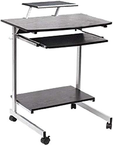 ZouYongKang Mesa de bandeja, sofá lateral ajustable mesa de cama para laptop escritorio portátil con ruedas de ruedas sobre la mesa de la mesa de las ruedas, mesa de computadora portátil móvil de escr