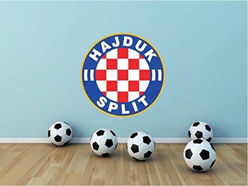 HNK Hajduk Split FC Croatia Soccer Football Sport Home Decor Art Wall Vinyl Sticker 55 x 55 cm