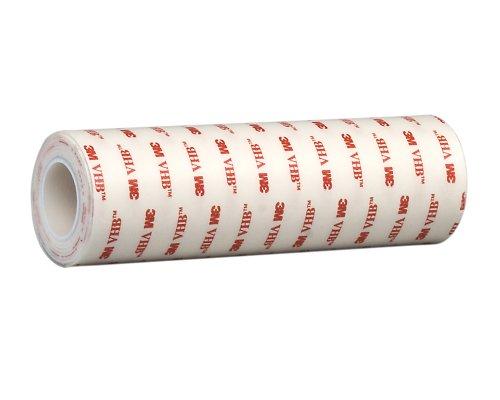 "3M VHB Heavy Duty Mounting Tape 4950, 1.5"" width x 5yd length (1 Roll)"
