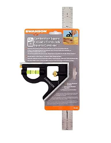 Swanson Tool Co TC132 12-Inch Combo Square
