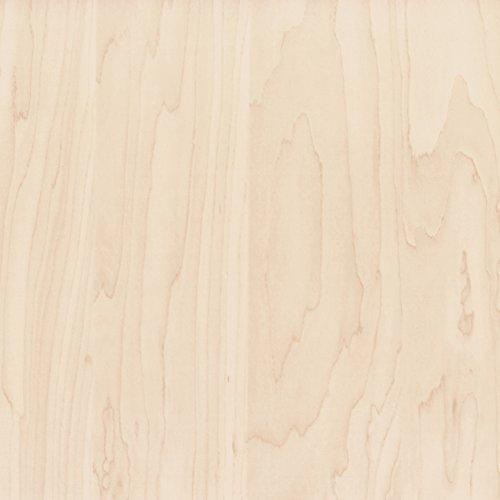 Klebefolie Perfect Fix® Ahorn Dekofolie Möbelfolie Tapeten selbstklebende Folie, PVC, ohne Phthalate, keine Luftblasen, Natur-Holzoptik, 45cm x 2m, Stärke: 0,15 mm, Venilia 53326