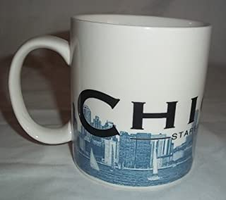 Starbucks Skyline Series Chicago 2005 Coffee Mug Series One