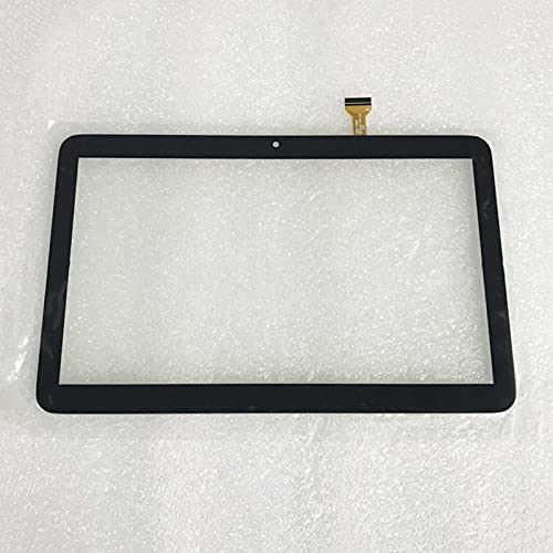30pin Pantalla táctil CQM1068 XC-PG1010-144-A2 para 10.1 Pulgadas IPS 4G Llamada telefónica Tableta Tableta Sensor CQM1068XC-PG1010-144-A2 (Color : Black)