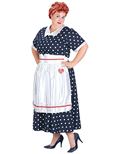 Fun World 17703 I Love Lucy Classic Plus Adult Costume Size plus