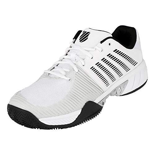 Dunlop Herren Express Light 2 Hb Sneaker, White/Black/Barly Blue, 42 EU