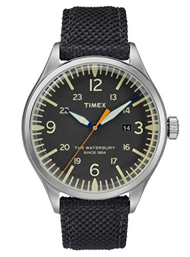 Timex Herren Analog Quartz Uhr Waterbury Traditional