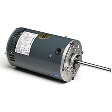 Marathon X533 56Z Frame Condenser Fan//Heat Pump Motor 3 Phase 1//2 hp 208-230//460V 1140 RPM Shaft Dimension 5//8 x 5 2.1-2.0//1.0 amp Rigid Base Open Air Over Shaft