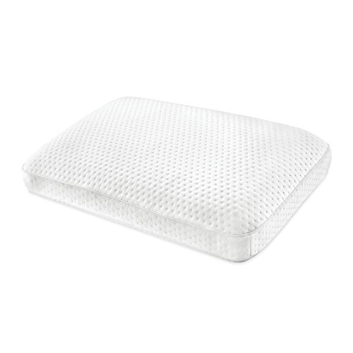 SensorPEDIC Oversized Luxury Extraordinaire Gel-Infused Memory Foam, White Pillow