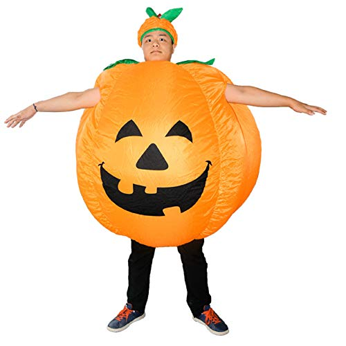 belupai 2020 Halloween Kürbis Kostüm Bühne Performance Kürbis Aufblasbares Kostüm Cartoon Puppe Aufblasbare Kleidung Unisex Spielzeug
