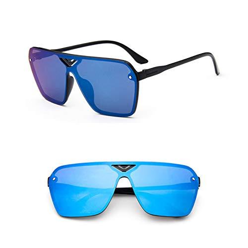 Frauen Sonnenbrillen Brillen,Reflektierende Siamesische Pilotensonnenbrille Frauen Markendesignerin Luxus Frauen Sonnenbrille Klassische Vintage Uv400 Outdoor-Sonnenbrille Für Outdoor-Sport, Fahren,
