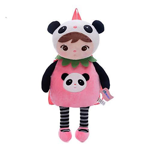 tianluo Stofftier Panda Tiere Cartoon Taschen Kinder Puppe Plüsch Rucksack Spielzeug Kinder Umhängetasche Für Kindergarten Angela Rabbit Girl MeToo Rucksack