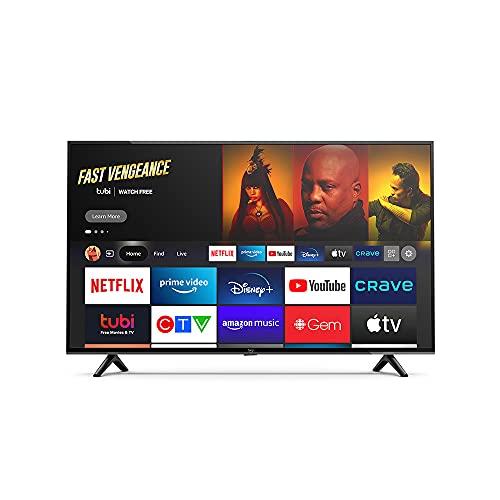 "Introducing Amazon Fire TV 43"" 4-Series 4K UHD smart TV"