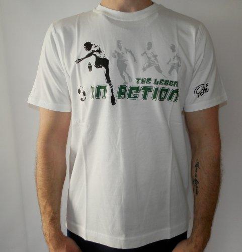 Puma Brasilien World Cup Pele Fußball T-Shirt Trikot WM 2014 XL weiß