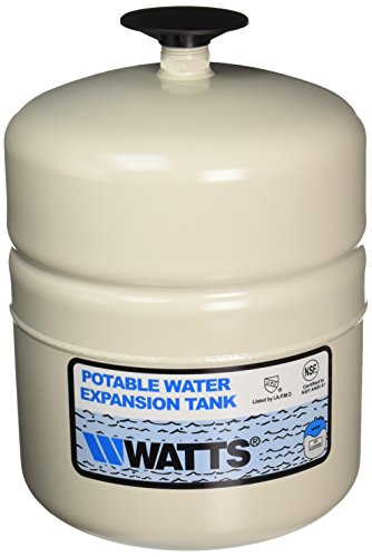 WATTS WATER TECHNOLOGIES GIDDS-1030401 Potable Water Expansion Tank, Model #Plt-5, Stainless Steel Nipple, 2.1 Gallon, Lead Free