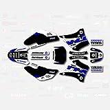 Black Blue Shift Racing Graphics Kit fits 00-07 YAMAHA TTR125 Sticker Decal TTR 125