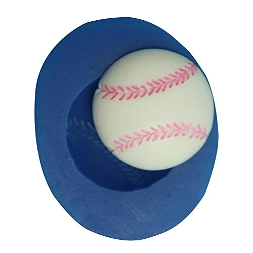 househome Backform Baseball Süßigkeiten Craft Dekoration Schimmel Silikonform Kuchendekoration Fondant-Werkzeug Silikon Gießformen Silikonform Bakeware Gelee Pudding Seife Süßigkeiten Muffinform