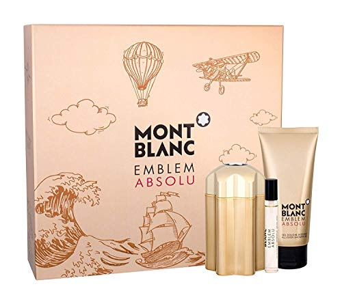 MONTBLANC Fragancia Set Emblem Absolute, RB y Shave Gel, 207.5 ml