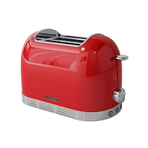 Schneider Vintage 2 RANURAS-SCTO2-SCHNEIDER Toaster 2 Scheiben, Rot, M