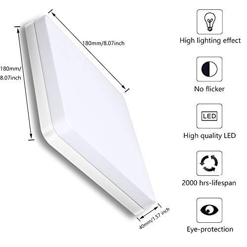 Ouyulong Iluminación de techo de interior