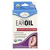 Wallys Natural Products Ear Oil - Organic - 1 fl oz (Pack of 4)
