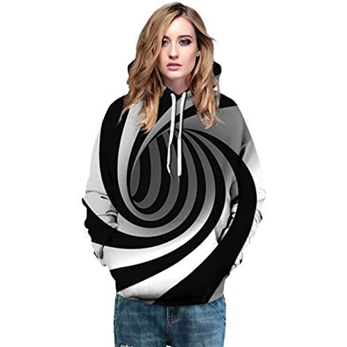xingling Langarm Pullover, Damen Mama Bär Sweatshirt, 3D gedruckt lässig Klassische...