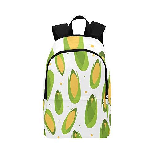 ZXWXNLA Best School Bags Corn Yellow Particlur Durable Water Resistant Classic Womens Backpack School Messenger Bag Best Bookbag Cooler Bookbag