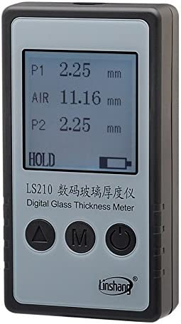 Portable LS210 Digital Glass Thickness for Meter space 数量限定アウトレット最安価格 air 宅配便送料無料 singl