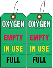 Best oxygen cylinder tags Reviews