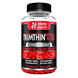 TRIMTHIN® X700 Thermogenic Diet Pills with Maximum Energy Manufactured in USA from Clinically Researched Ingredients 120 Capsules