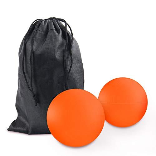 Massageball Set, JEVDES Lacrosse Ball Massage für Alle Muskelgruppen und Kleine Schwer Erreichbare...