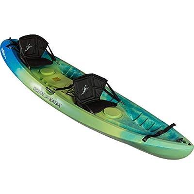 1103994 Ocean Kayak Malibu Two Tandem Sit-On-Top Recreational Kayak (Ahi, 12-Feet) from Ocean Kayak