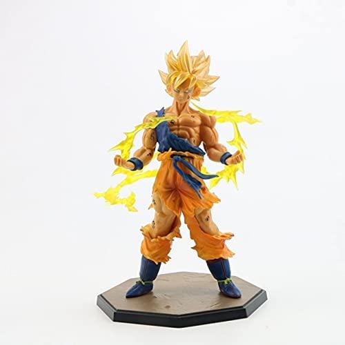 XIAOLING Super Saiyan Son Goku Figura de acción Modelo de Juguete Coleccionable Anime Goku Doll Adorno Regalo